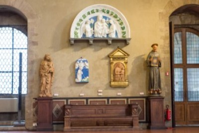 Tuscany - Florence. Della Robia Collection.