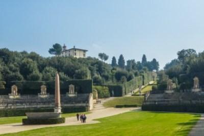 Tuscany - Florence. Palazzo Pitti Boboli Gardens.