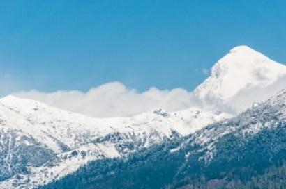 Bhutan -Mount Jomulhari.