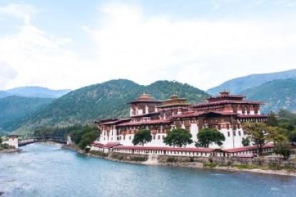 Bhutan -Punakha Dzong.