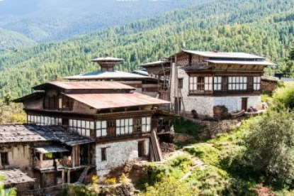 Bhutan -Tang Valley Farmhouse.