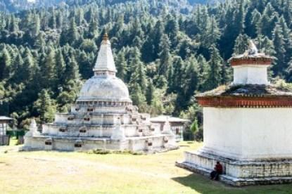 Bhutan -Chendebji Chorten.
