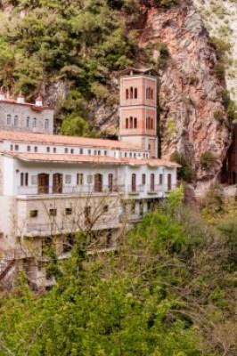 Greece - Pindus. Proussos Monastery,