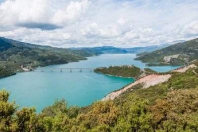 Greece - Pindus. Lake Kremaston