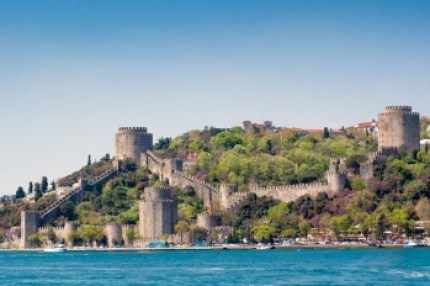 istanbul medieval Rumelian fortress.