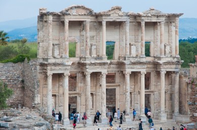 Ephesus. Turkey.- The Library of Celsius.