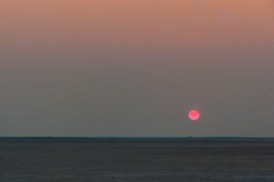 Botswana - Kalahari sunset.