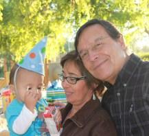 Jose, Rose, and Grandson