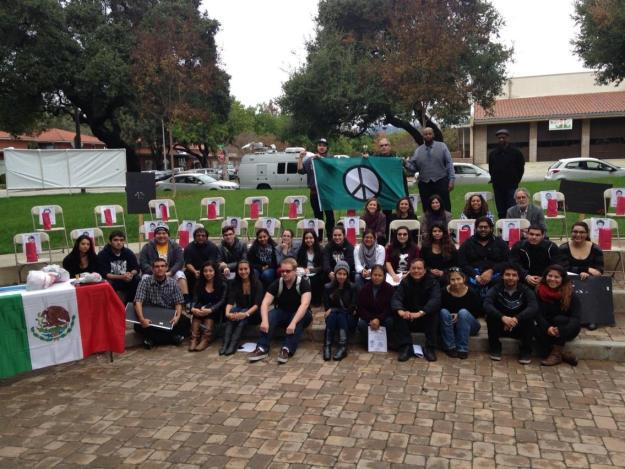 University of LaVerne organizers after rally in support of 43