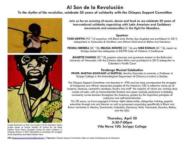 Al Son de la Revolucion Flyer Revised Draft 3 (1)