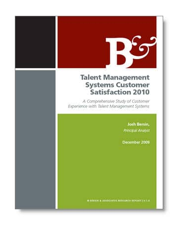 Talent Management Systems Satisfaction 2010