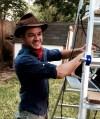 Josh Bolinger Bollinger Jurassic Park party in austin texas