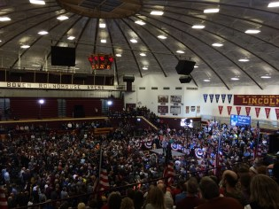Clinton Rally