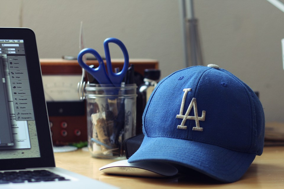 Spring is Dodger season.