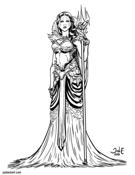 Nereida - IUPUI's Return of Aetheria - from a character designed by Kathryn Steele