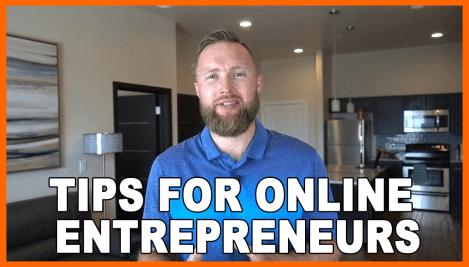 Tips for online entrepreneurs