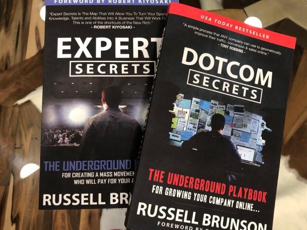 Expert Secrets & Dotcom Secrets Book