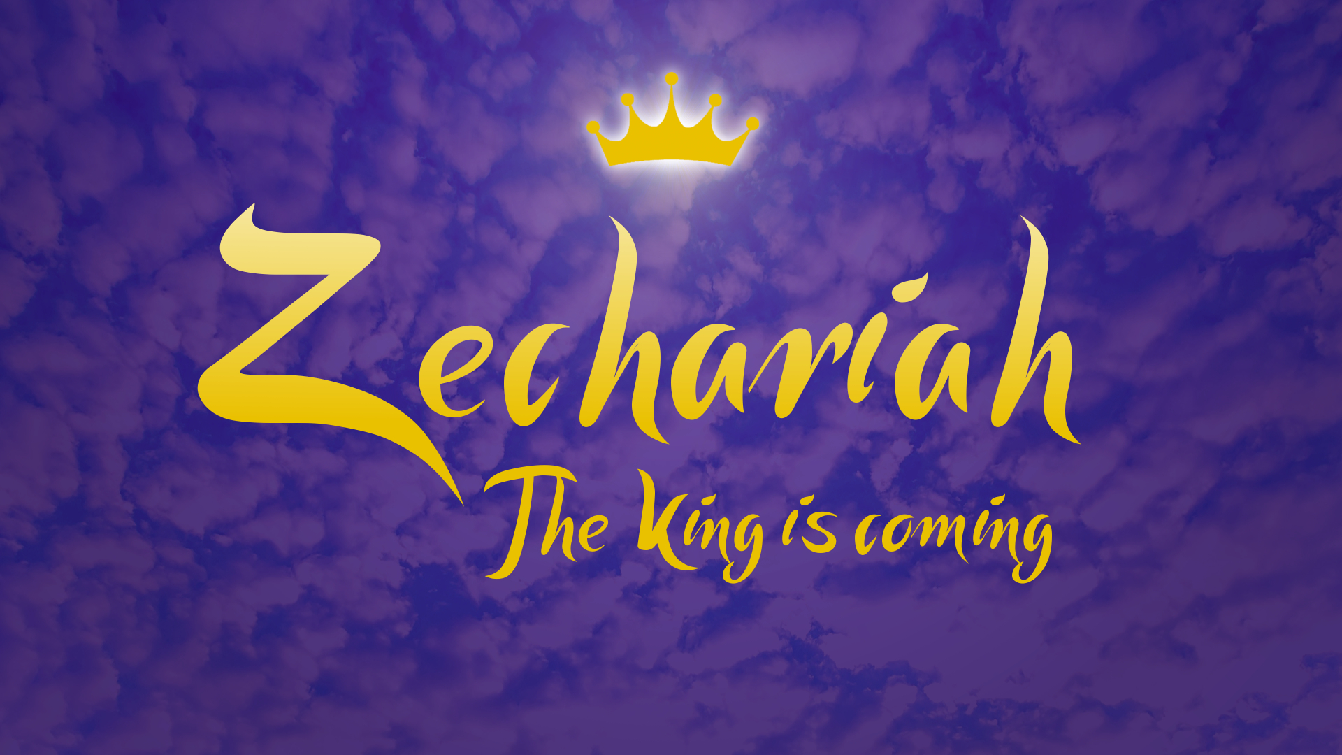 Zechariah 1 | Time to Return to God