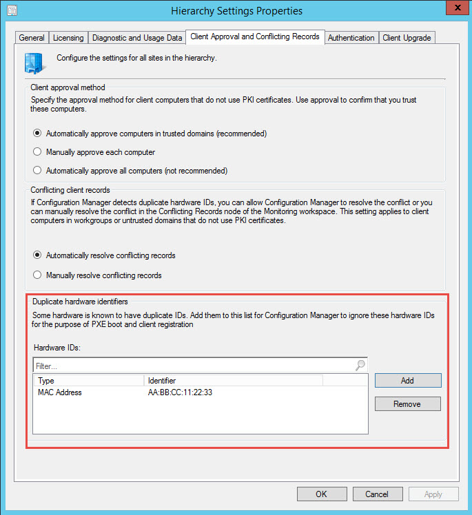 Easily Reuse Network Adapters in SCCM for PXE-based OS