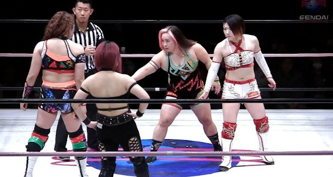 Sendai Girls' on 3/9/19 Review