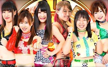 Ibuki Hoshi, Syuri & Tae Honma vs. Risa Sera, Tsukasa Fujimoto & Tsukushi
