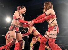 Syuri and Sareee vs. Yumi Ohka and Miyuki Takase