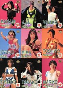 All Japan Women Official Cards Set #1