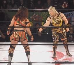 Tsubasa Kuragaki vs. Hiroyo Matsumoto