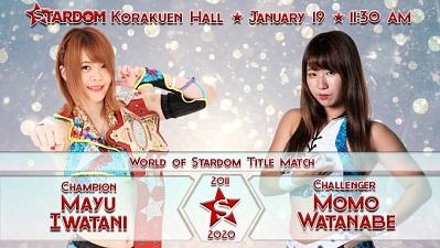 Mayu Iwatani vs. Momo Watanabe