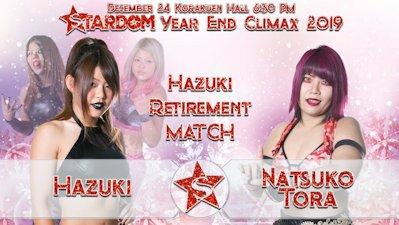 Hazuki vs. Natsuko Tora
