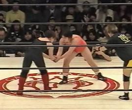 Meiko Satomura vs. Makie Numao