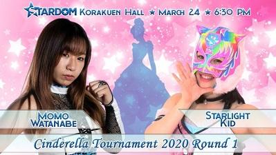 Momo Watanabe vs. Starlight Kid
