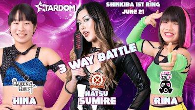 Natsu Sumire vs. Rina vs. Hina