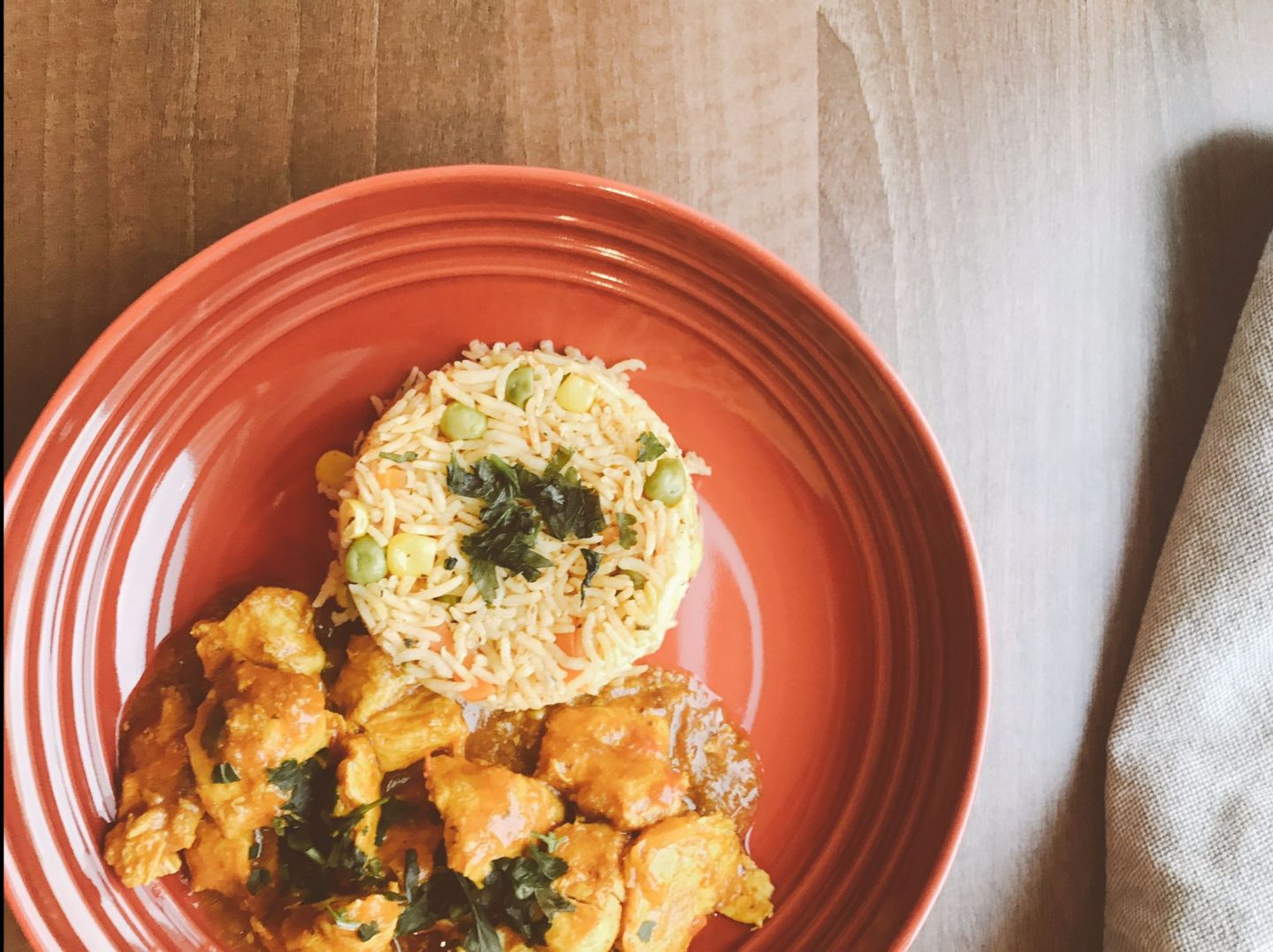 Easy Weeknight Curry & Rice
