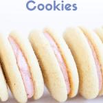 strawberry vanilla cookie pies