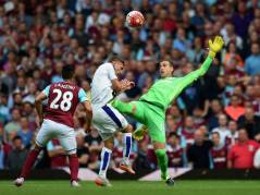 Adrian sees red for this high challenge on Vardy – independent.co.uk