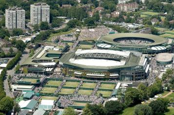 The All England Lawn Tennis and Croquet Club, hosting the 128th Wimbledon Championships – thetimes.co.uk