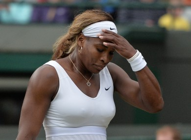 A frustrated Serena Williams would be delighted to hold all four Grand Slams again – the42.ie