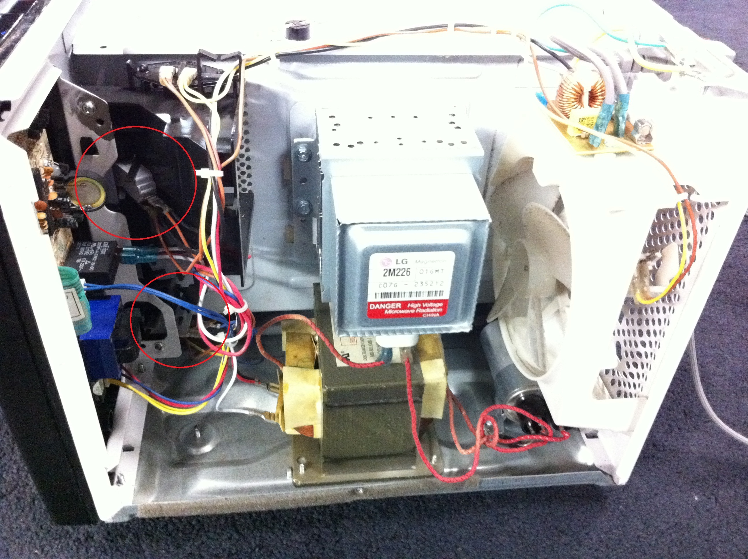 emerson mw8992sb microwave success