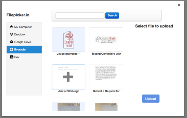 File sync options