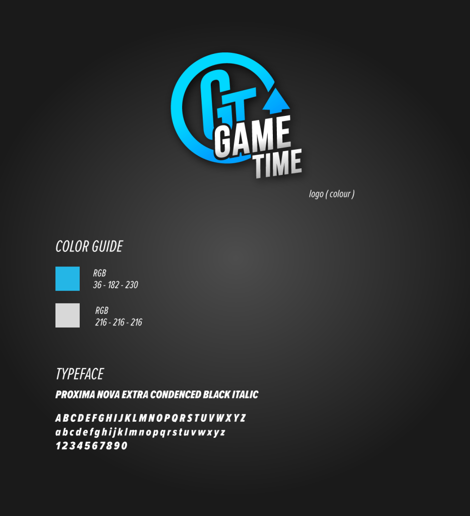 Game-Time-app-Logo-Style-guide