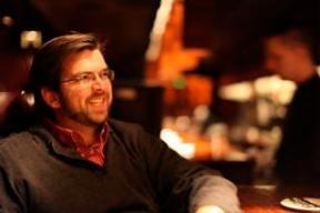 Josh Paget at the bar