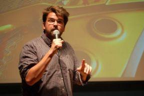Josh Paget performs at Park La Brea