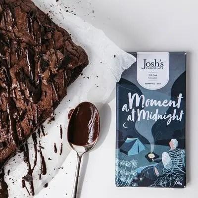 Dark Chocolate Moment At Midnight Bar
