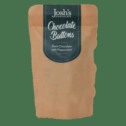 Dark Chocolate Peppermint Buttons