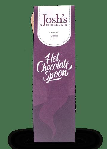 Joshs Chocolate hot chocolate spoon
