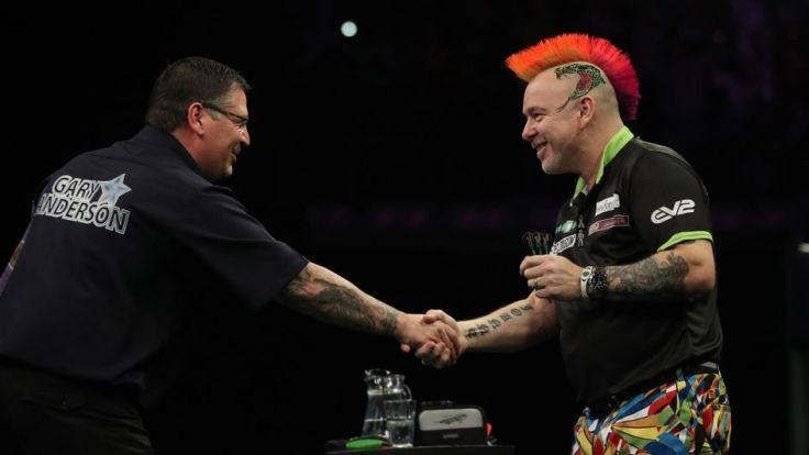 Gary Anderson Peter Wright