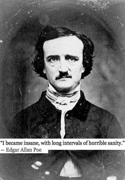 portrait of the author edgar allan poe josh spilker