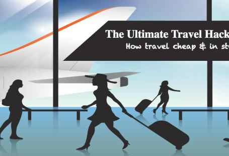 Travel hack to travel cheap & in style