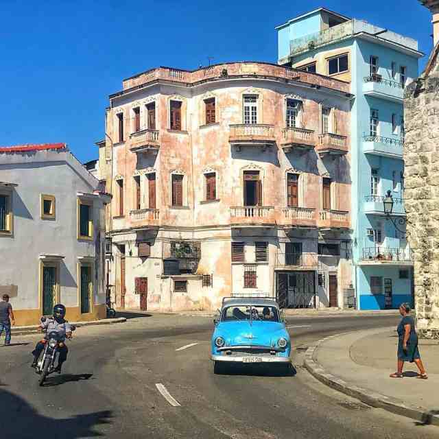 The stunning streets cape of old Havana cuba havana habanahellip